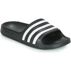 adidas ADILETTE AQUA K Teenslippers kind - Zwart
