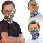 ALB Stoffe® ProtectMe - KIDS Loops Mix - Mondkapjes voor Kinderen - 3 Stuks
