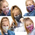 ALB Stoffe® ProtectMe - KIDS Loops Mix - Mondkapjes voor Kinderen - 5 Stuks