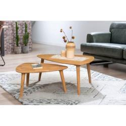 andas salontafel Scandi van mooi massief eikenhout, met een gemakkelijk te onderhouden oppervlak