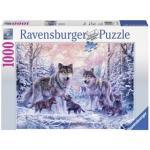 Arctische Wolven Puzzel (1000 stukjes)