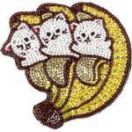 Bananya brooch
