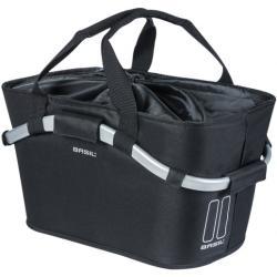 Basil designmand Carry All achter MIK 22 liter zwart 11247