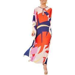 Belloxis strandjurk dames zomer kimono strandjurken cardigan strandtuniek Kaftan Boho jurk lang