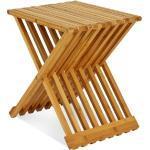 Bijzettafel Bamboo-Hout