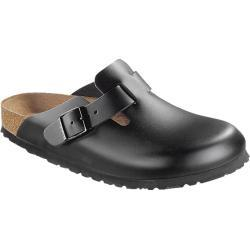 Birkenstock Clogs Boston NL Schwarz Regular Zwart