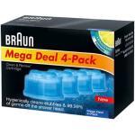Braun Clean&Renew reinigingsvloeistof - 4 stuks