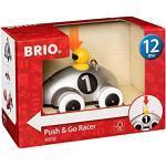 BRIO Push & Go Racewagen, 30232, Zilveren Editie