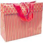 Cadeautas van Clairefontaine Suprem' Recto Verso Recto Verso Shopper Cadeautas 33 x 11 x 25 cm Rood