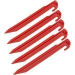 CAMPZ Plastic Tentharing 23cm, rood 2021 Tentharingen
