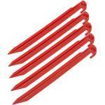 CAMPZ Plastic Tentharing 30cm, rood 2021 Tentharingen