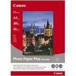 Canon SG-201 fotopapier Plus zijdeglans, mat (260 g/m²), 10 x 15 cm A3
