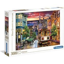 """Clementoni 33547"""" San Francisco 3000 stukjes puzzel hoge kwaliteit collectie, meerdere kleuren"""