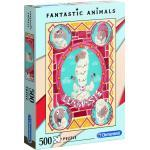 Clementoni legpuzzel Fantastic Animals Lama 500 stukjes