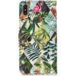 Cover Booklet case hoesje jungle bladeren design iPhone XS Max - Bladeren
