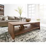 DELIFE Salontafel Live-edge 130x60 cm acacia boomrand, Tafels
