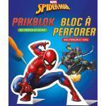 Deltas prikblok Spider Man 18,3 x 22,3 cm blauw/rood