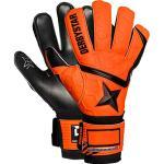 Derbystar Kids Attack XP16 keeperhandschoenen, oranje zwart, 4