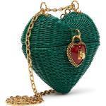 Dolce & Gabbana Rieten tas - Groen