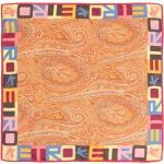 ETRO Sjaal met paisley-print - Oranje