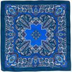 Etro Zijden zakdoek - Blauw