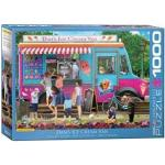Eurographics puzzel Dan's Ice Cream Van - Paul Normand - 1000 stukjes