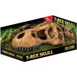 Exo Terra T-Rex-schedel, veilige schuilplaats voor reptielen en amfibieën, groot