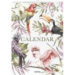 Fabrikten Tropical Verjaardagskalender - A4 - Groen