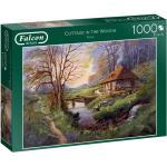 Falcon legpuzzel Cottage in the Woods 1000 stukjes