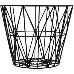 Ferm Living Wire Basket S Zwart