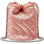 Gucci GG Marmont kleine bucket-tas - Roze