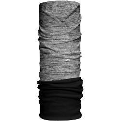 HAD Solid Stripes Fleece Loop Sjaal, alex/black fleece 2021 Sjaals & Doeken