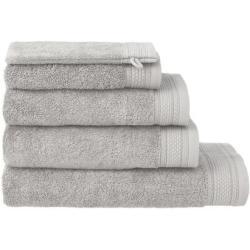 HEMA Handdoeken - Hotel Extra Zwaar Lichtgrijs (lichtgrijs)