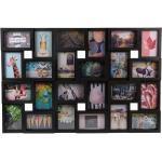 Henzo Fotolijst - Magnolia Gallery - Collagelijst Voor 24 Foto's - Fotomaat 10x15 Cm - Zwart