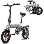 HITWAY Elektrische fiets E-Bike Pedelec stadsfiets vouwfiets fiets fiets van luchtvaartaluminium, 7,5 Ah batterij, 250 W motor, bereik tot 45 km BK3-HW