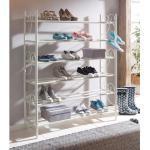 Home affaire schoenenrek Princess set van 3, ruimte voor ca. 24-30 paar schoenen (plat model), hoogte 120 cm (3 stuks)