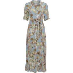 In Shape jurk Kirsten print blauw