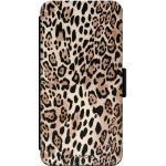iPhone XR flipcase - Luipaard print