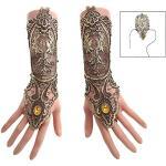 iwobi Kanten handschoenen dames handschoenen lang gothic handmanchet steampunk armband - 1 paar