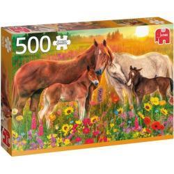 Jumbo legpuzzel Paarden in de Wei 500 stukjes