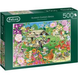 Jumbo legpuzzel Summer Garden Birds 500 stukjes
