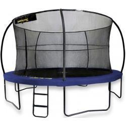 Jumpking trampoline met net en ladder JumpPod Deluxe 366 cm blauw (2016)