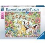 Kattenvriendschap Puzzel (1000 stukjes)