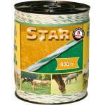 """Kerbl Schrikdraad """"Star"""" 400 m wit en groen"""