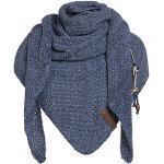 Knit Factory - Coco Omslagdoek - Jeans/Indigo - 190x85 cm