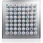 Knix Premium golfbal-zetkast van aluminium voor 12, 24, 36, 48, 64, 80 of 140 - spiegelkast, golf-rek Vitrine Display