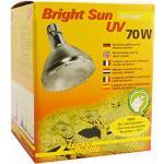 Lucky Reptile Bright Sun Desert UV-Lamp, 70 W, voor E27-Fitting met UVA- En UVB-Straling, Voorschakelapparaat Vereist, 1 Stuk