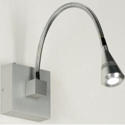 Moderne PowerLED-wandlamp met flexibele arm.
