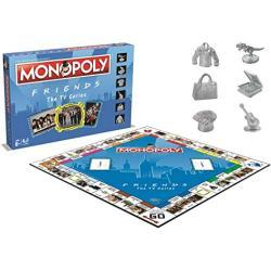 Monopoly Friends - Bordspel - Speciale editie Monopoly Friends - Voor de hele familie - Taal: Engels