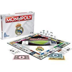 Monopoly Real Madrid - Bordspel - De Real Madrid editie van Monopoly - Voor de hele familie - Taal: Engels